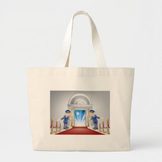 First class treatment tote bag