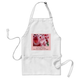 First Comes Love, then Comes Marriage, then Comes Standard Apron