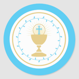 First Communion Envelope Seal or Favor Sticker