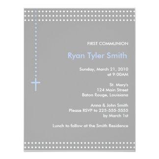 First Communion 11 Cm X 14 Cm Invitation Card