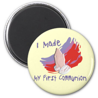 First Communion Kids Shirts Gifts Magnets