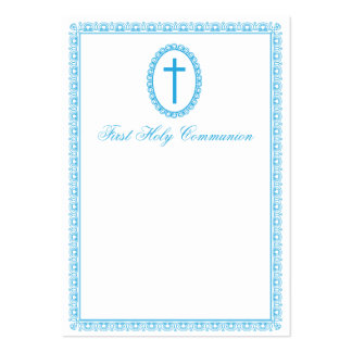First communion pack of chubby business cards