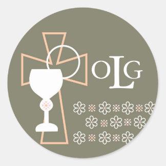 First Communion Seal - Monogram