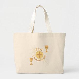First Communion Jumbo Tote Bag