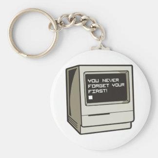 First Computer Retro Key Chain