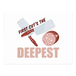 First Cut Deepest Postcard