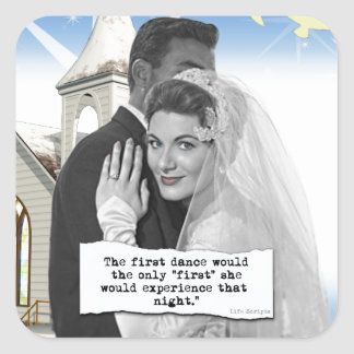 First Dance Bride Stickers