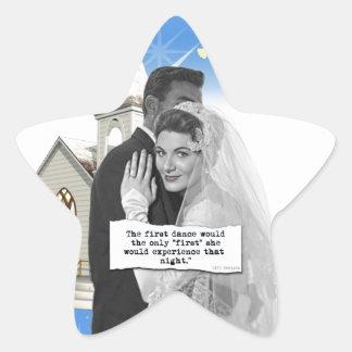 First Dance Bride Star Sticker