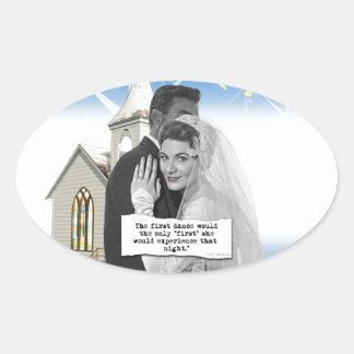 First Dance Bride Sticker