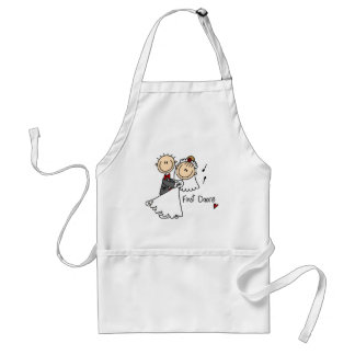 First Dance Wedding Tshirts and Gifts Standard Apron
