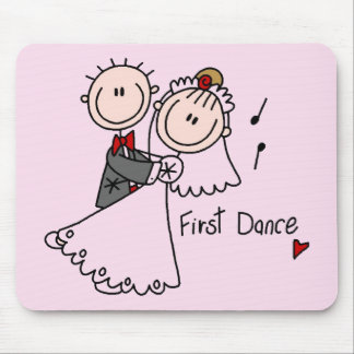 First Dance Wedding Tshirts and Gifts Mouse Mats