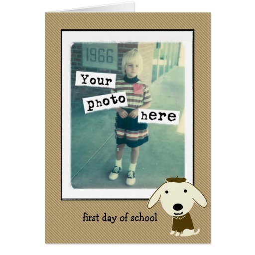 First Day of School Greeting Cards