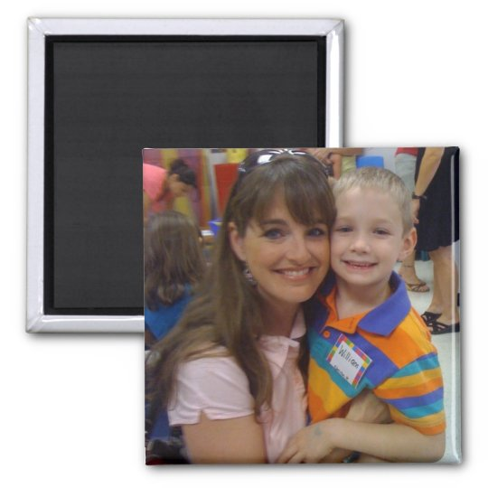 First Day of School Photo Fridge Magnet