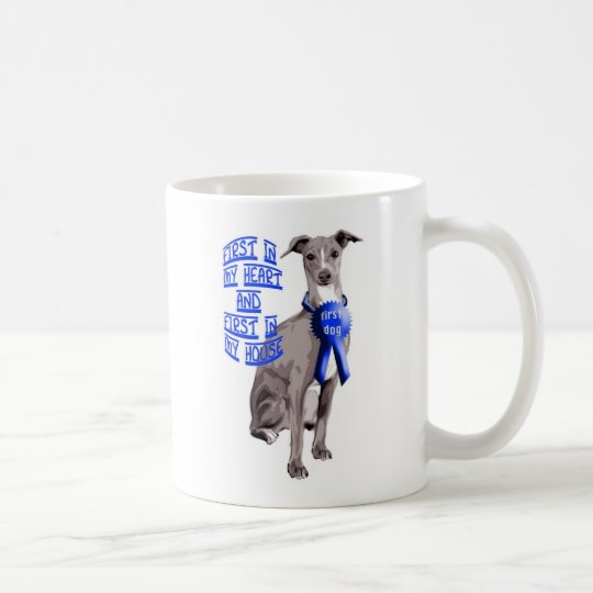 First Dog Italian Greyhound Coffee Mug