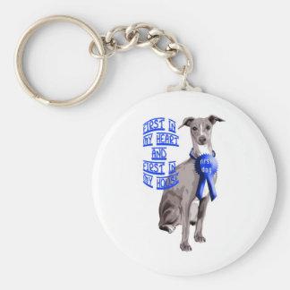 First Dog Italian Greyhound Key Ring