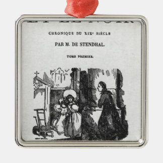 First Edition of 'The Red and the Black' Christmas Ornament