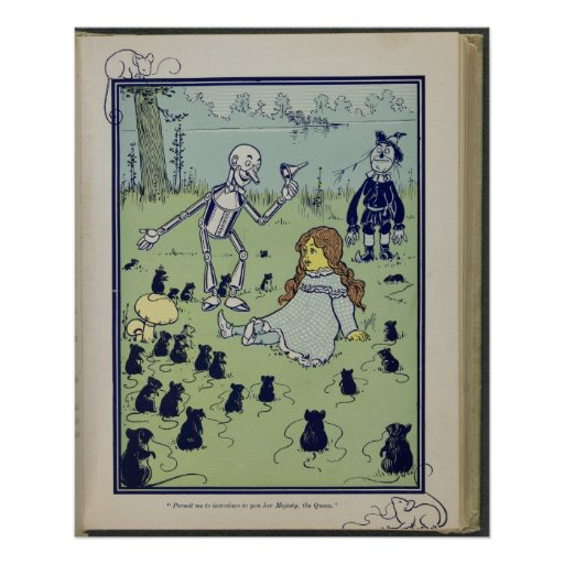 First Edition Wizard of Oz Children's Book Image
