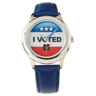 First Election • I Voted • Commemorative Watch