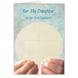 First Eucharist - Daughter Greeting Cards