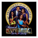 First Family Obama's Print