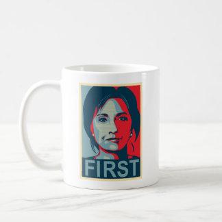 First Female President Hillary Clinton Coffee Mug