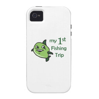 FIRST FISHING TRIP iPhone 4/4S CASES