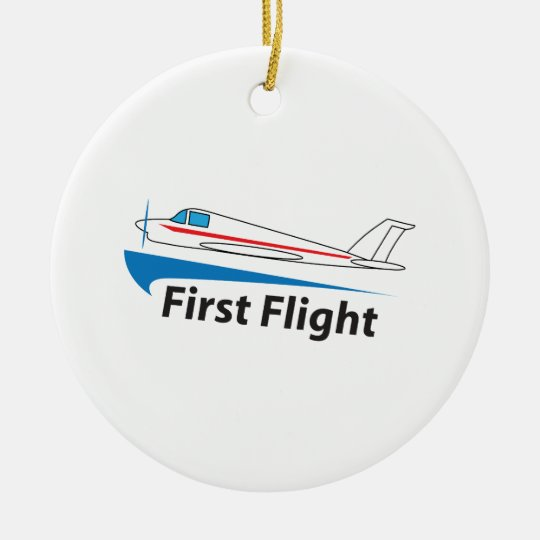 FIRST FLIGHT CHRISTMAS ORNAMENT