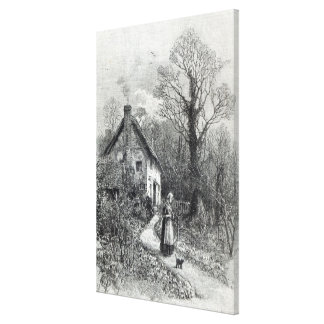 First Flowers from Leisure Hour 1888 Stretched Canvas Prints