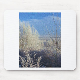 First Frost in the Valley Mouse Pads