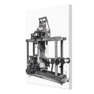 First fully automated loom canvas print