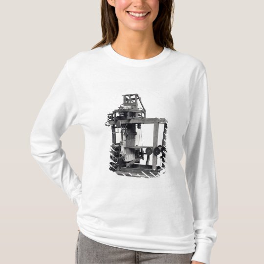 First fully automated loom T-Shirt