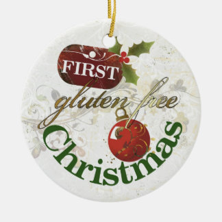 First Gluten Free Christmas Ornament