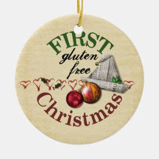 First Gluten Free Christmas Ornament