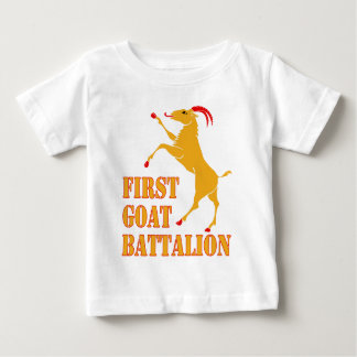 First Goat Battalion Baby T-Shirt