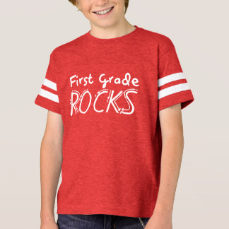 First Grade Rocks Kids Shirt