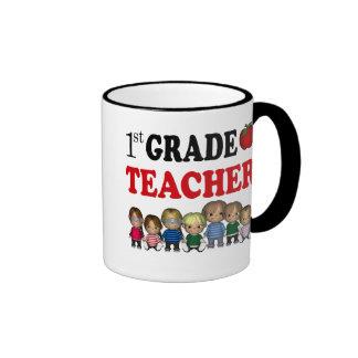 First Grade Teacher Mug