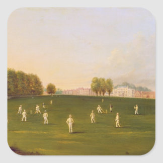 First Grand Match of cricket played by members of Square Sticker
