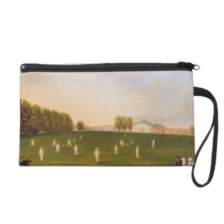 First Grand Match of cricket played by members of Wristlet Purse