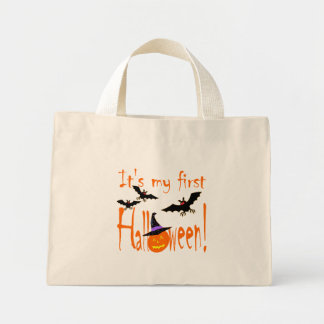 First Halloween Candy Bags