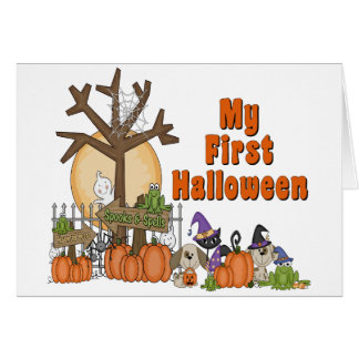 First Halloween Cute & Spooky Cards