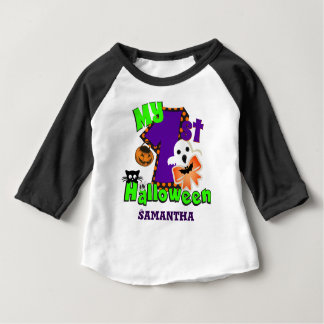 First Halloween Ghost Baby T-Shirt