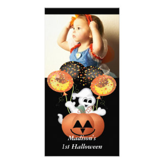First Halloween Photo Card