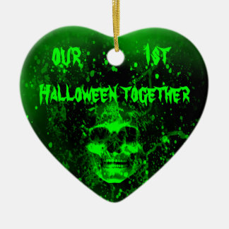 First Halloween together Christmas Ornament