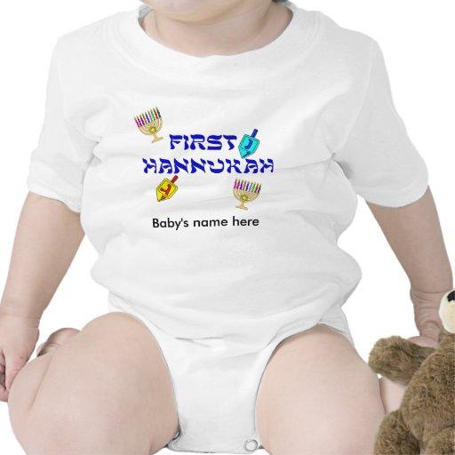 First Hannukah customize T-Shirt