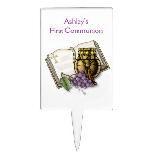 First Holy Communion Cake Toppers