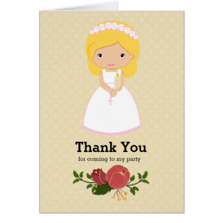 First Holy Communion * choose background color Card