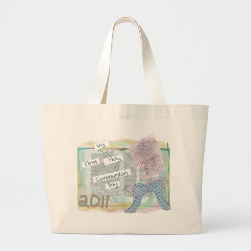 First Holy Communion Day Gifts Kids Canvas Bags