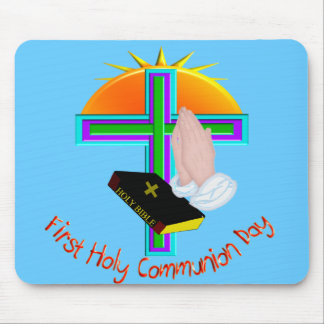First Holy Communion Day Gifts Mouse Pads