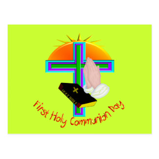 First Holy Communion Day Gifts Postcards