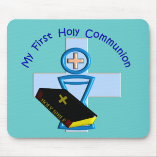 First Holy Communion Gifts for Kids Mouse Pad